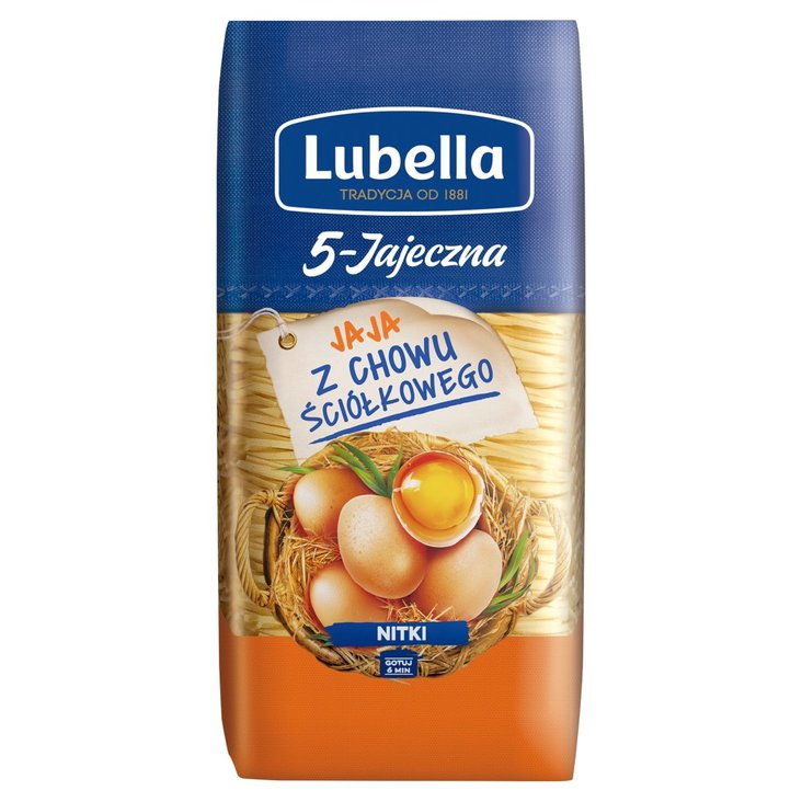 Lubella 5-Jajeczna Makaron nitki 250 g (2)