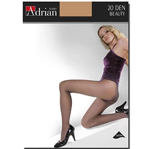 ADRIAN Beauty Bikini Rajstopy 20 DEN Rozmiar 3 Opal 1 szt (1)