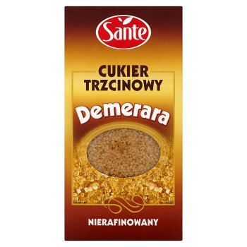 Sante Demerara Cukier trzcinowy nierafinowany 500 g (2)