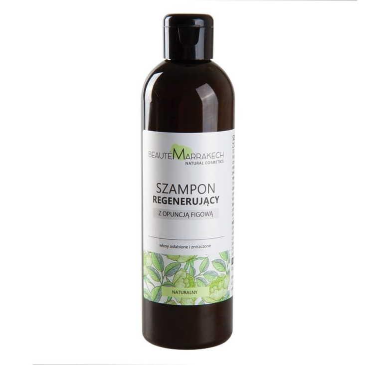 MAROKO Szampon wzmacniający z olejem z opuncji figowej do włosów osłabionych i zniszczonych 250ml (1)