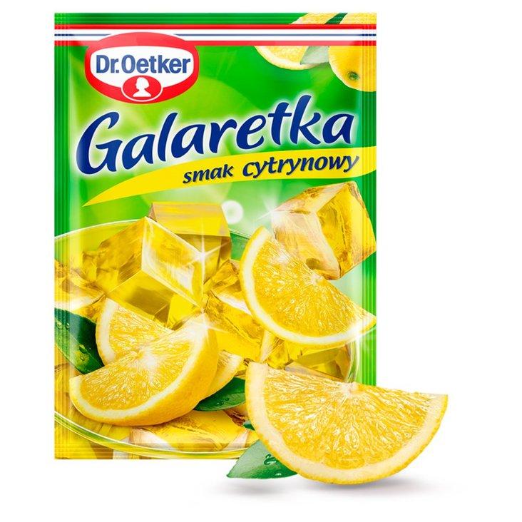 Dr. Oetker Galaretka o smaku cytrynowym 77 g (1)