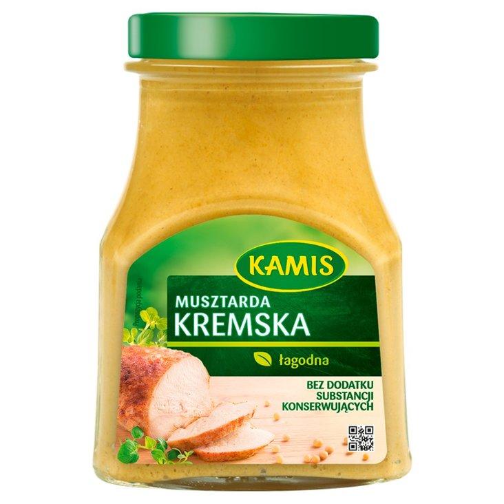 Kamis Musztarda kremska 185 g (1)