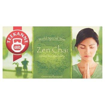 Teekanne World Special Teas Zen Chaí Herbata zielona o smaku cytryny i mango 35 g (20 x 1,75 g) (2)