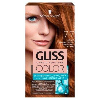 Schwarzkopf Gliss Color Farba do włosów ciemny miedziany blond 7-7 (1)