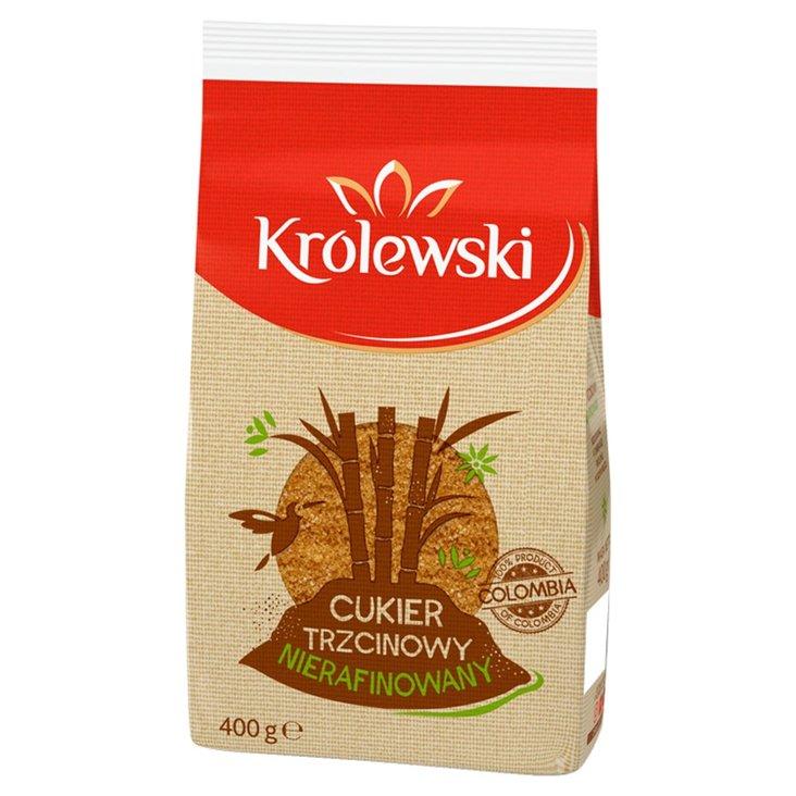 Cukier Królewski Cukier trzcinowy nierafinowany 400 g (1)