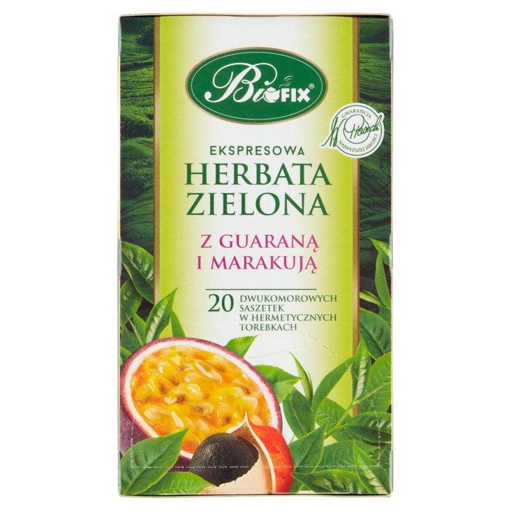 Bifix Ekspresowa herbata zielona z guaraną i marakują 40 g (20 x 2 g) (2)