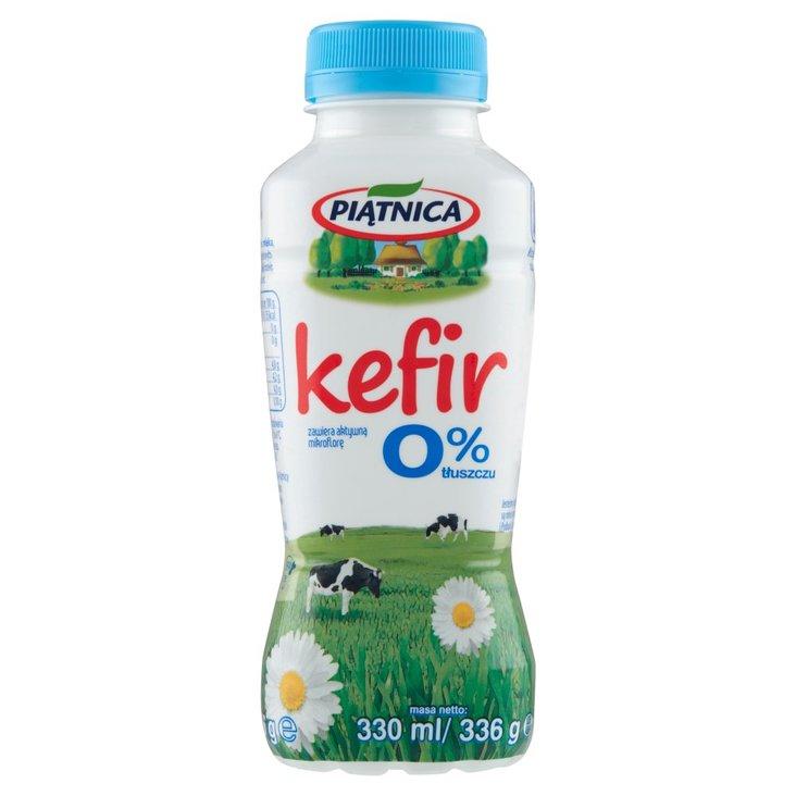 Piątnica Kefir 0% tłuszczu 330 ml (1)