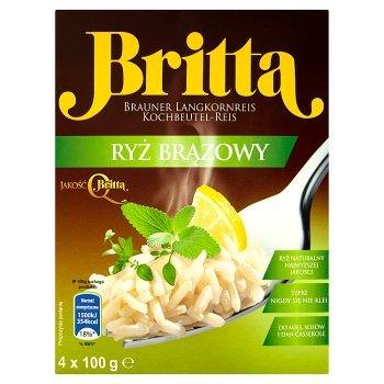 Britta Ryż brązowy 400 g (4 sztuki) (2)