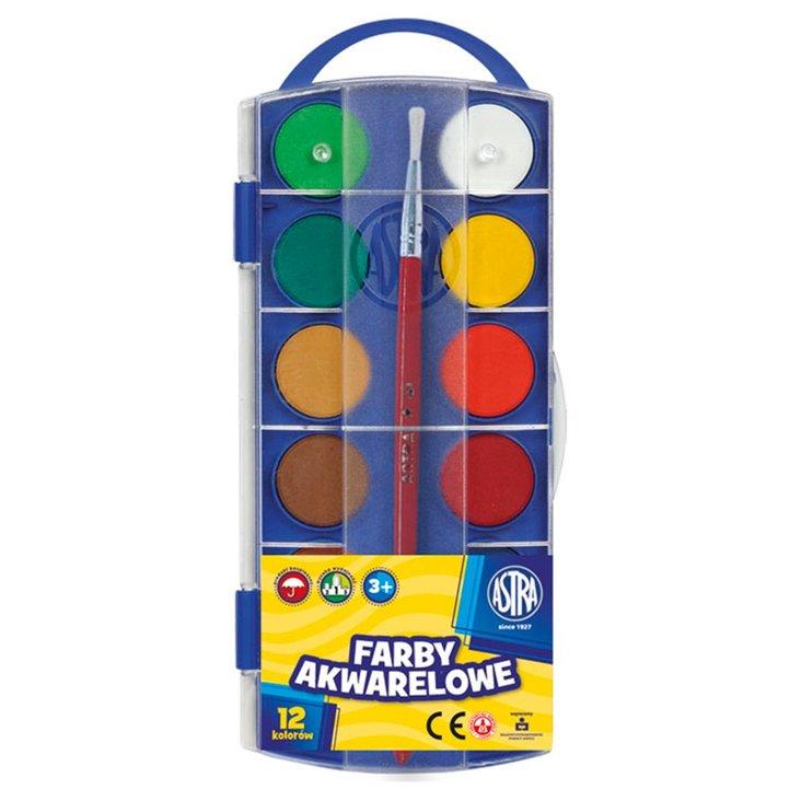 Astra Farby akwarelowe 12 kolorów (1)