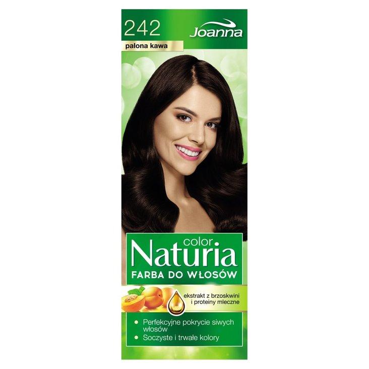 Joanna Naturia color Farba do włosów palona kawa 242 (2)