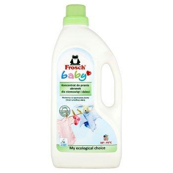 Frosch Baby Koncentrat do prania ubranek dla niemowląt i dzieci 1,5 l (21 prań) (1)