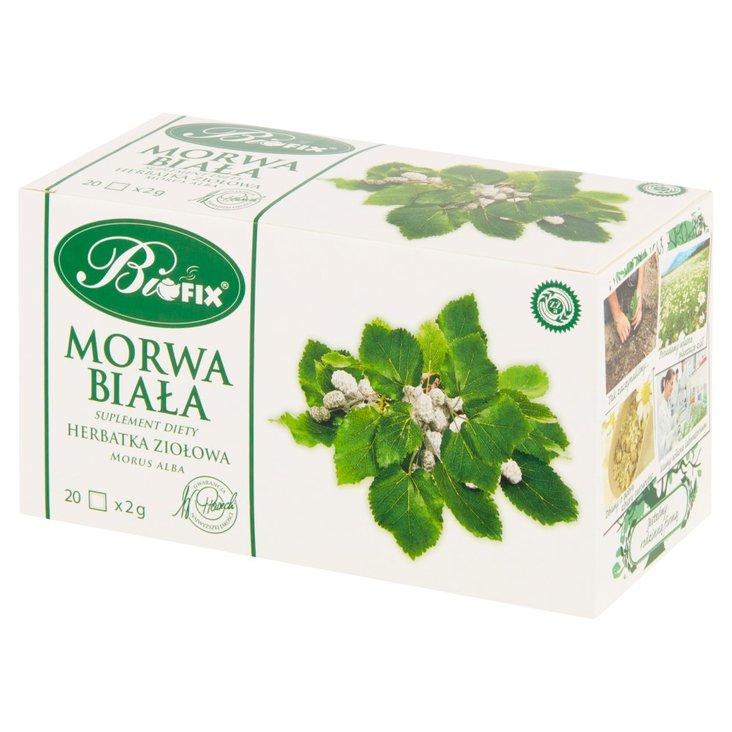 Bifix Suplement diety herbatka ziołowa morwa biała 40 g (20 x 2 g) (1)