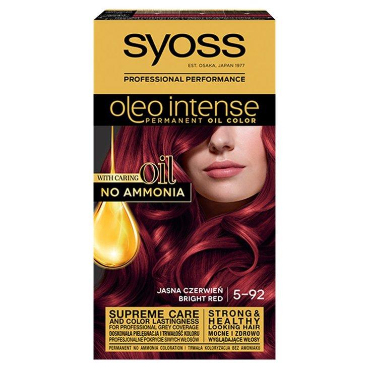 Syoss Oleo Intense Farba do włosów jasna czerwień 5-92 (1)