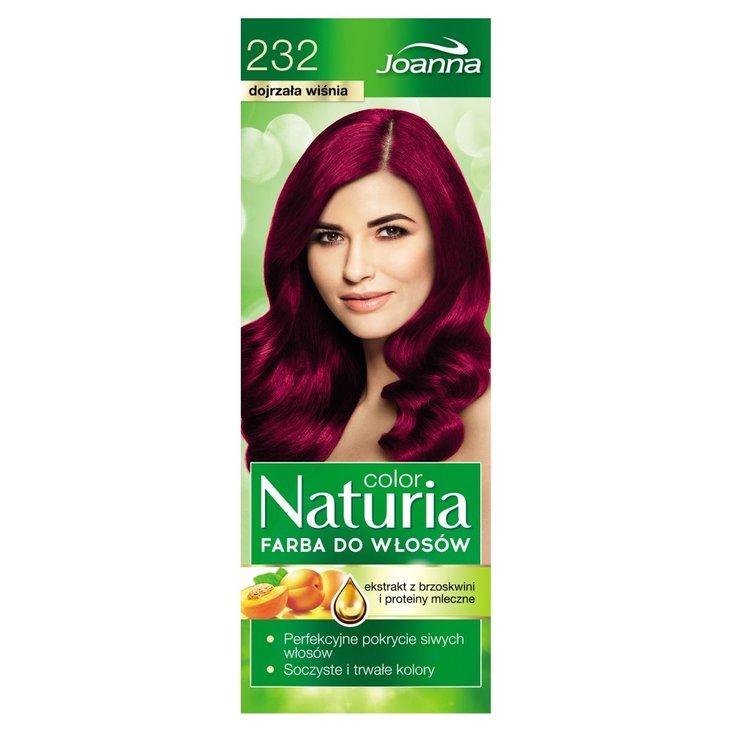 Joanna Naturia color Farba do włosów dojrzała wiśnia 232 (2)