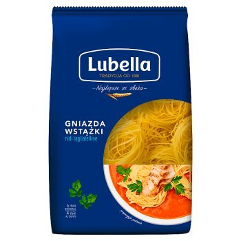 Lubella Makaron gniazda wstążki 400 g (2)