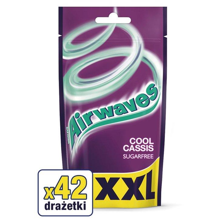 Airwaves Cool Cassis XXL Guma do żucia bez cukru 58 g (42 drażetki) (1)