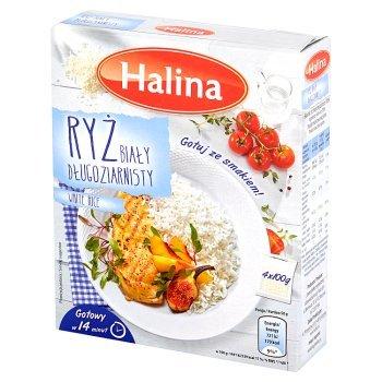Halina Ryż biały długoziarnisty 400 g (4 sztuki) (1)