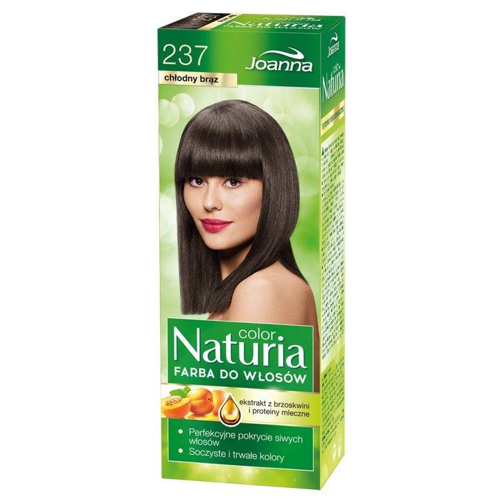 Joanna Naturia color Farba do włosów chłodny brąz 237 (1)