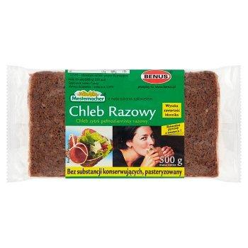 Mestemacher Chleb żytni pełnoziarnisty razowy 500 g (1)