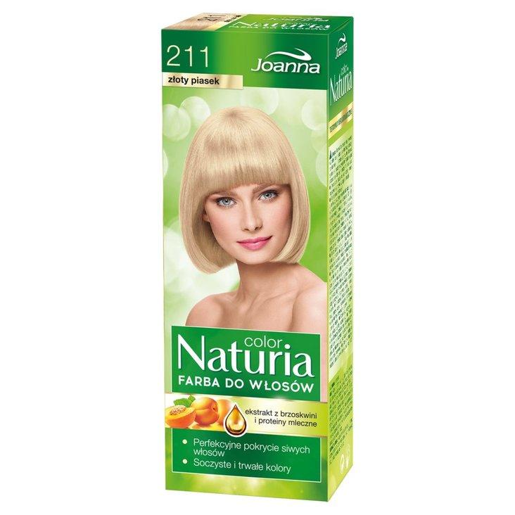 Joanna Naturia color Farba do włosów złoty piasek 211 (1)