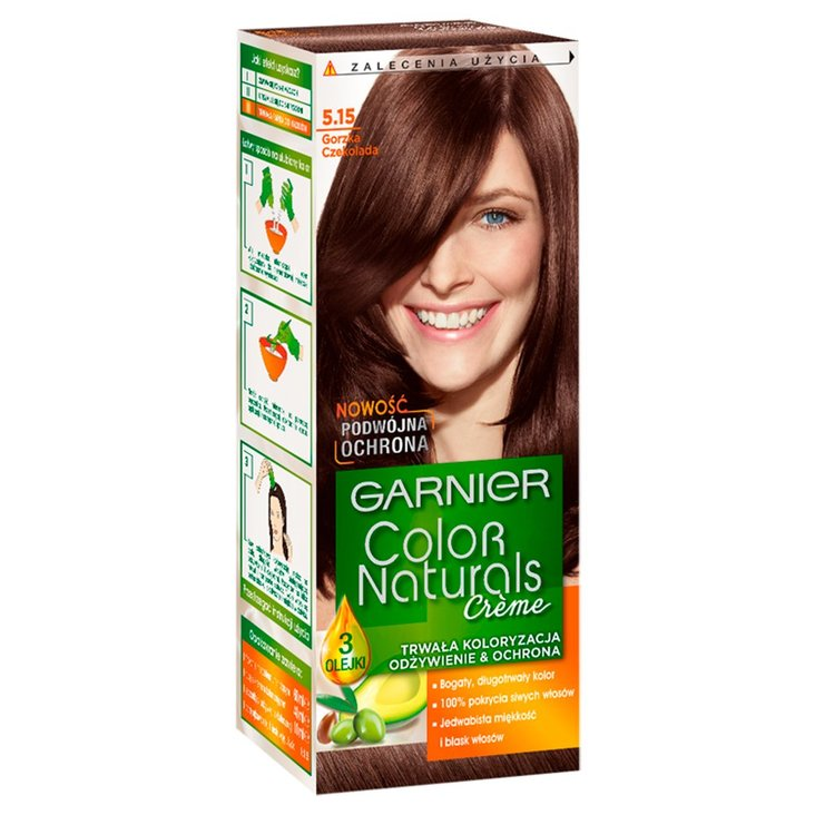Garnier Color Naturals Créme Farba do włosów 5.15 Gorzka czekolada (1)