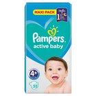 Pampers Active Baby Rozmiar 4+, 53 pieluszki, 10-15 kg (2)