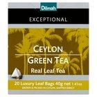 Dilmah Exceptional Zielona cejlońska herbata 40 g (20 torebek) (2)