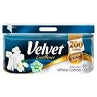 Velvet Excellence White Cotton Papier toaletowy 8 rolek (2)