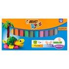 BiC Kids Plastelina 12 kolorów (2)