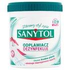 Sanytol Odplamiacz dezynfekujący białe i kolorowe tkaniny 450 g (2)