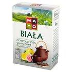 Mayo Biała z cytryną i różą o smaku pigwy Herbata liściasta 50 g (1)