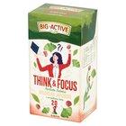 Big-Active Think & Focus Herbata zielona miłorząb japoński z orzeszkami kola 30 g (20 x 1,5 g) (1)