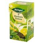 Herbapol Herbata zielona z cytryną liściasta 80 g (1)