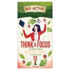 Big-Active Think & Focus Herbata zielona miłorząb japoński z orzeszkami kola 30 g (20 x 1,5 g) (2)