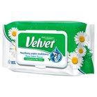 Velvet Camomile & Aloe Vera Nawilżany papier toaletowy 42 sztuki (1)