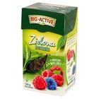 Big-Active Zielona herbata liściasta z owocem maliny 100 g (1)