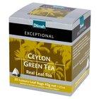 Dilmah Exceptional Zielona cejlońska herbata 40 g (20 torebek) (1)