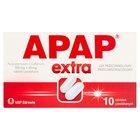 Apap Extra Lek przeciwbólowy przeciwgorączkowy 10 sztuk (2)