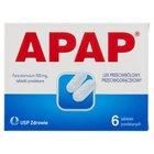 Apap Lek przeciwbólowy przeciwgorączkowy 6 sztuk (2)