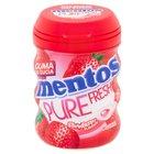 Mentos Pure Fresh Strawberry Guma do żucia bez cukru 60 g (30 sztuk) (1)