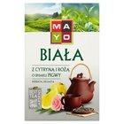 Mayo Biała z cytryną i różą o smaku pigwy Herbata liściasta 50 g (2)